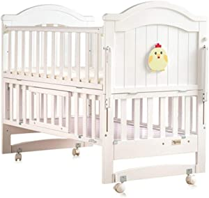 Baby Travel Bed Newborn Toddler Baby Crib Breathable Mesh Baby Anti-Collision Bed Bumper Protector Detachable Crib Liner Folding Baby Crib