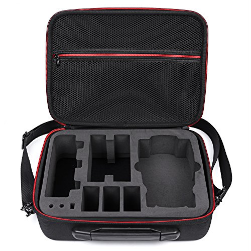 Oumers Waterproof Carrying Case Portable Hard Shell Bag Suitcase for DJI Spark Drone
