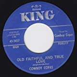 Old Faithful And True Love/(I'm A) Stranger In My Home (VG 45 rpm)
