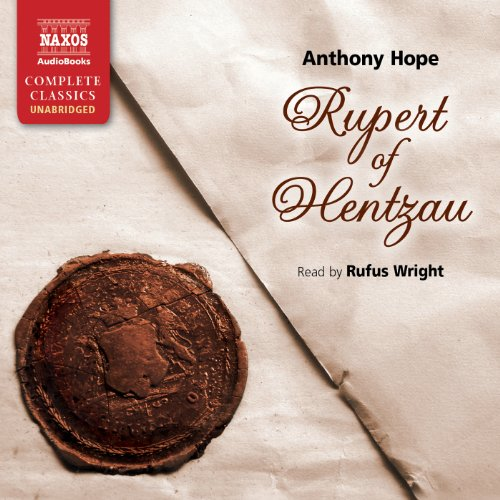 Rupert of Hentzau audiobook cover art