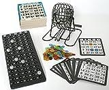 [page_title]-KSS Großes Bingo Spiel + 500 Bingokarten Bingo Spiel Set Metall Bingotrommel Bingo-Mühle Lotto-Trommel Tombola Auslosung