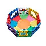 3点Set! NEW♪★ミュージカルキッズランドDX本体+★拡張パネル 2 枚セット(赤・青) +★スマートマット(8角形)