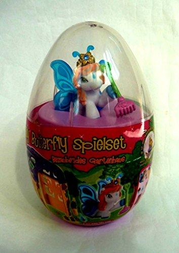Neu Filly Butterfly Spielset (Mega-Ei), bezauberndes Gartenhaus mit exclusivem Filly Victoria (mit Laubbesen) …