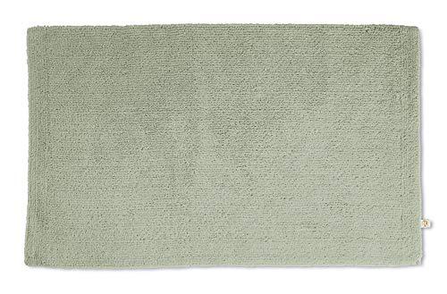 Rhomtuft Badteppich Pur eckig 50 x 75 cm Farbe jade