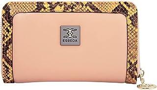 ESBEDA Light Orange Color Printed Animal Textured Wallet For Women -11576