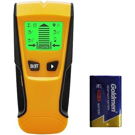 Flybiz Professional Digitales Ortungsgerät 3 In 1 Multifunktions Stud Finder Wand Scanner Detektor Für Metall Holz Wechselspannung Leistungssucher Wand Scanner Stud Pinpoint Baumarkt