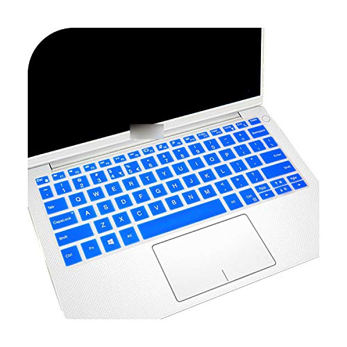 Roof Protection Keyboard, 12 Inches for Dell Latitude 5285 / Latitude 12 7000 Series 7275 2 in 1 Silicone Cover for Keyboard-Blue