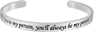 Personalized Bracelets for Women, Bangle Stainless Steel Inspirational Jewelry for Gifts …