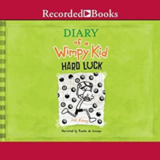 Diary of a Wimpy Kid: Hard Luck                   Written by:                                                                                                                                 Jeff Kinney                               Narrated by:                                                                                                                                 Ramon De Ocampo                      Length: 2 hrs     3 ratings     Overall 4.3