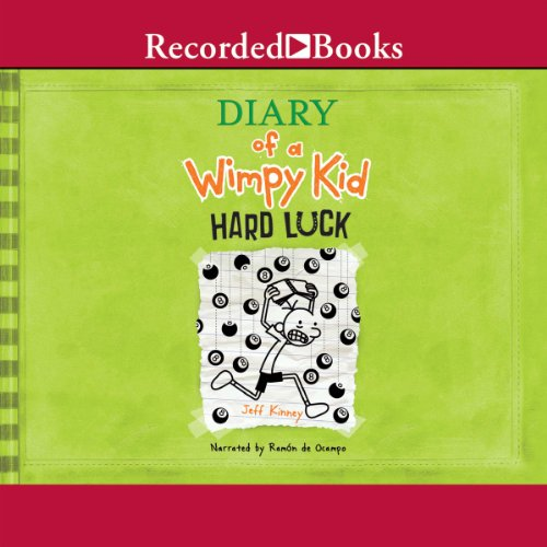 Diary of a Wimpy Kid: Hard Luck audiobook cover art