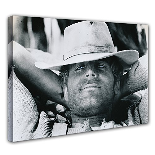 Terence Hill Bud Spencer - Der müde Joe - Relax - Die rechte und die Linke Hand des Teufels - Leinwand (90 x 60 cm)