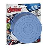 Marvel Kuchen Form: Silikon: Captain America Shield, blau