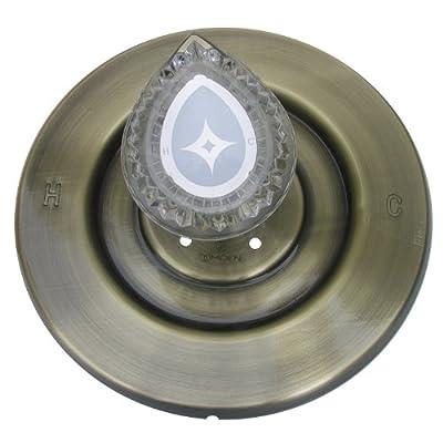 Simpatico Moen Shower Trim Kit with Brass Escutcheon Screws Tube and Handle