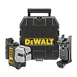 DEWALT Line Laser, Self-Leveling, 3-Beam (DW089K) , Black
