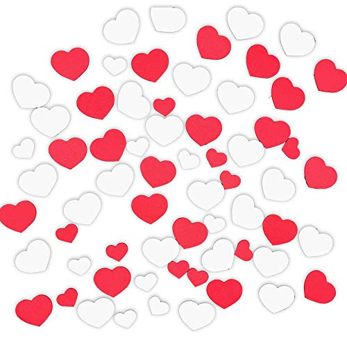 Purchase XO Valentine's Day Foam Heart Shapes Stickers - for DIY Arts and Craft Projects or Decorati...