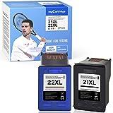 MyCartridge Compatibili HP 21XL 22XL Cartucce per HP Deskjet 3940 D2360 D2460 F2180 F4180 ...