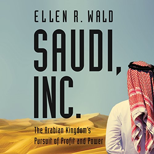 Saudi, Inc. audiobook cover art