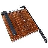 PrimeMatik - Cizalla de palanca para papel B5 (25x25cm)
