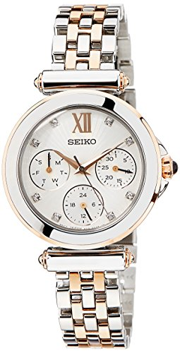 SEIKO Beige Women's Dial Watch SKY700P1