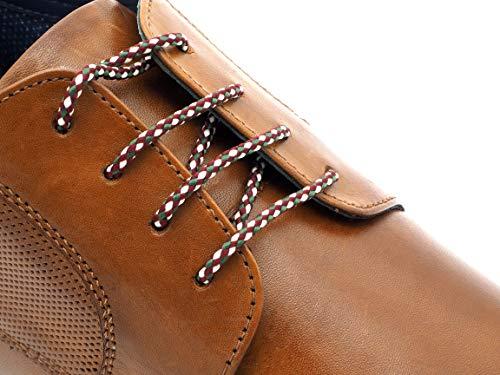 Remark Exclusive Schnürsenkel Windhoek | Elegante Schuhriemen für Lederschuhe | Businesschuhe stylische Schuhbändel | Schnüre für Schuhe