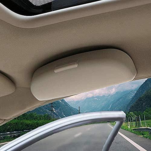 JHZQK - Funda para gafas de coche, para Haval H2, H3, H4, H5, H6, H9, F5, F7, coupe, soporte de almacenamiento para gafas de sol, color beige