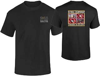 Elite Fan Shop Georgia vs Alabama 2017 CFP National Championship Tshirt Black Flags