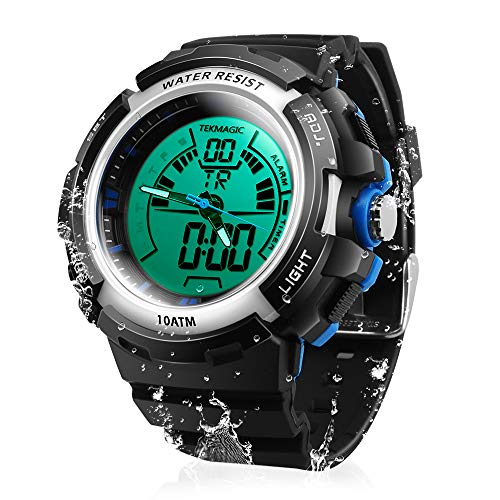 TEKMAGIC 10ATM Waterproof Digital Scuba Diving Watch 100m Underwater for...