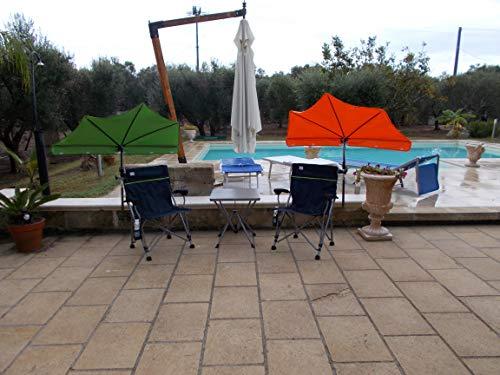 Holly Kit de détente avec 2 parasols à compartiments