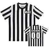 TopTie Disfraz de árbitro de los niños bordados personalizados para niños Jersey-Bordado-XS