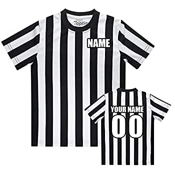 TOPTIE Custom Embroidered Children s Referee Shirt Costume Toddlers Kids Jersey-Embroidery-S