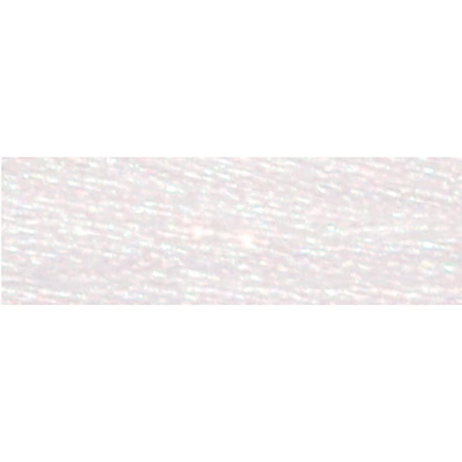 DMC 317W-E5200 Light Effects Polyster Embroidery Floss, 8.7-Yard, White