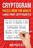 Cryptograms Puzzle Books for Adults: 400...