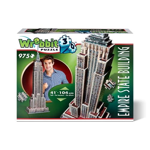 Wrebbit-el Empire State Puzzle 3D, Multicolor (W3D-2007)