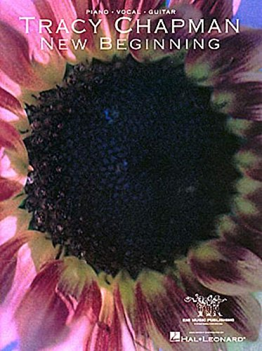 Tracy Chapman New Beginning Piano Vocal Guitar Book