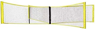 Niome Four Square Volleyball Net Cross Badminton Game Net Outdoor Training Portable for Beach Backyards Campus
