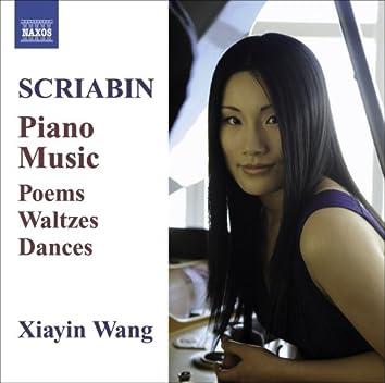 Piano Music - Poems / Waltzes / Dances