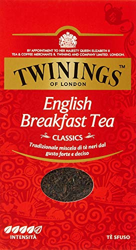 Twinings Tè Classic English Breakfast Sfuso - 8 confezioni