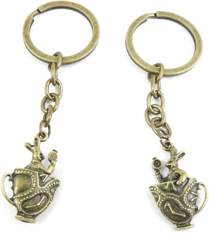 140 Pieces Fashion Jewelry Keyring Keychain Door Car Key Tag Ring Chain Supplier Supply Wholesale Bulk Lots N8FI6 Rabbit Prince