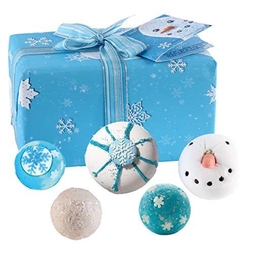 Bomb Cosmetics - Let it Snow, Set da bagno in confezione regalo, motivo natalizio