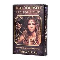 自分を癒すリーディングカードあなたの魂を変える直感的なガイダンス36カードタロットボードゲームオラクルトランプ