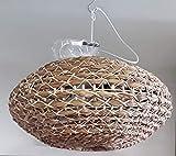 L'Oca Negra - Lámpara de techo 1G115 de ratán