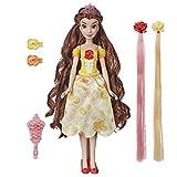 Disney Princesses La Belle et la Bête - Poupee Princesse Belle à coiffer - 30cm