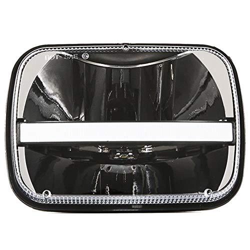 """2ST 5X7\"""" Rechteckige LED-Scheinwerfer Für Wrangler Cherokee XJ Truck Chevrolet Ford Scheinwerfer Ersatz H6014 H6052"""