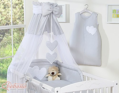 Beautiful New & Quality Grey Canopy/Drape/Mosquito NET with Decorative Bow...
