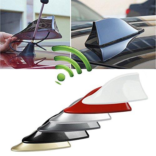 JEANS DREAM ZHUOTOP Auto Segnale Radio FM/AM Nero Antenna Shark Universale sul Tetto