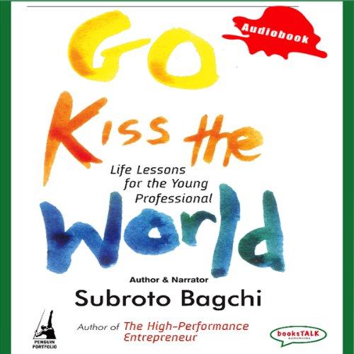 Go Kiss the World audiobook cover art