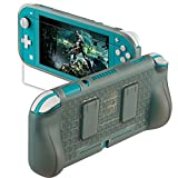 Protective Grip Case for Nintendo Switch Lite- NS-Lite Protective Cover Switch Lite Accessories kit Included Soft TPU Cover Case and Tempered Glass Screen Protector