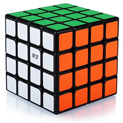 Speed Cube 4x4,Cubo Magico 4x4x4 Professionale, Puzzle Rompicapo per Adulti e Bambini(Adesivi in PVC)
