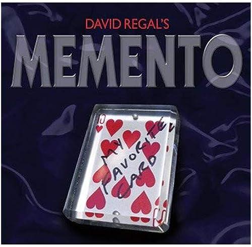 conveniente Memento (Gimmick and ) by by by David Regal by David Regal Magic  Con precio barato para obtener la mejor marca.