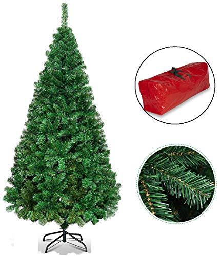5ft/6ft/7ft Premium Green Artificial Christmas Xmas...